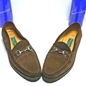 COLE HAAN Brown Casual Loafers